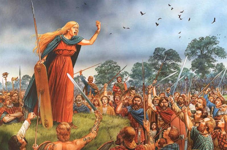 61 г. Ицены восстали против римлян и разгромили Лондиний