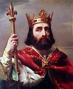 751 г. Пипин созвал в Суассоне общее собрание франков, которое избрало его королем франков