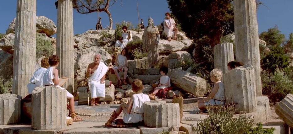 -335 г. (до.н.э) Аристотель основал философский Ликей в Афинах