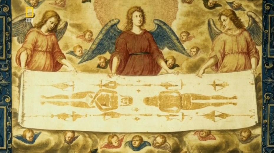 1353 г. Жеффруа де Шарни объявил, что у него хранится Плащаница Христова
