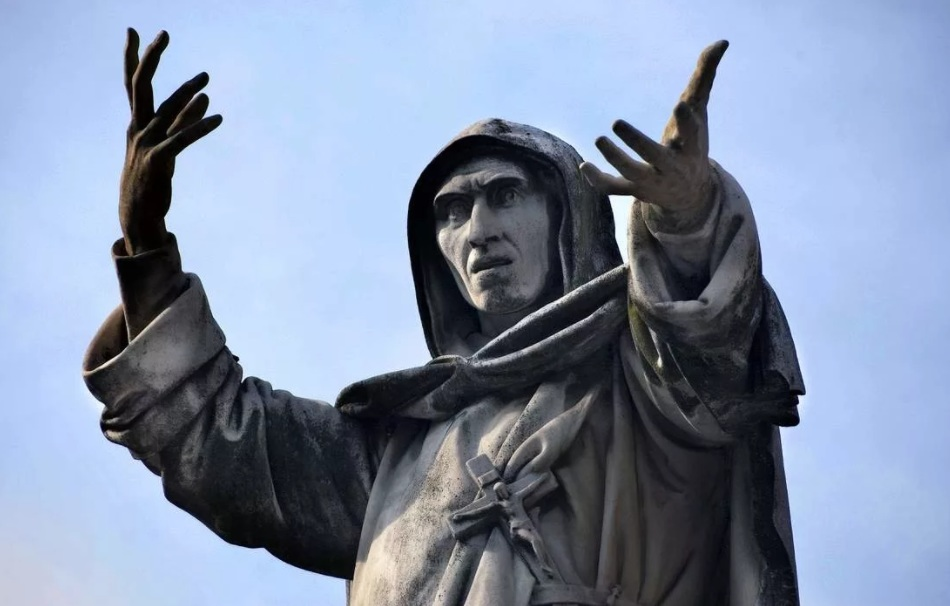 1493 г. Джироламо Савонарола в церкви называет жену правителя Болоньи дьяволом