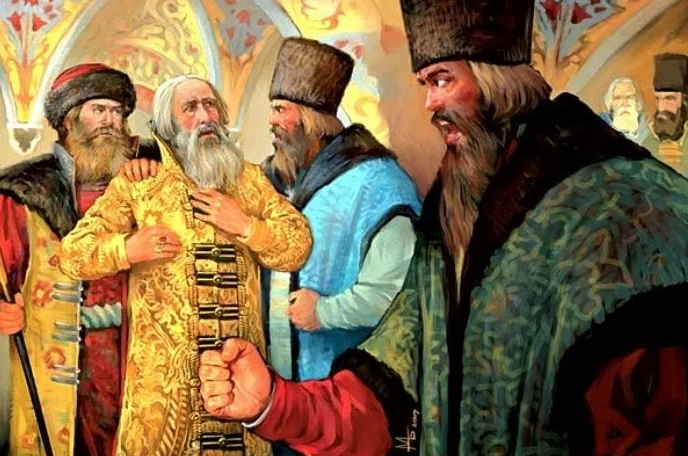1332 г. Местнический конфликт произошел между приезжим Родионом Нестеровичем и бояриным Акинфом Шубой при дворе Ивана Калиты