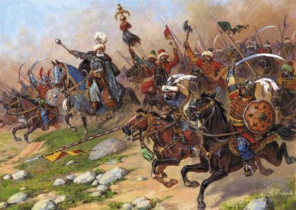 1482 г. Менгли I Герай большой ордой разрушил Киев