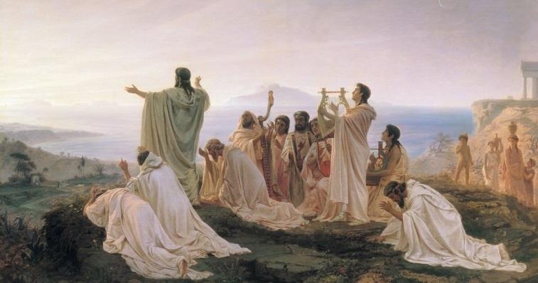 -450 г. д.н.э. Пифагорейцы были сожжены жителями Кротоне