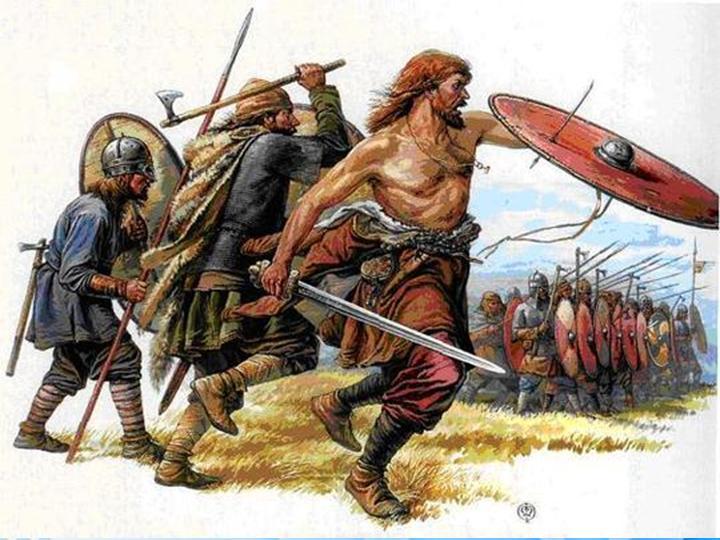 770 г. Сигурд Ринг в битве при Бравалле одержал победу над Харальдом Боевым Клыком