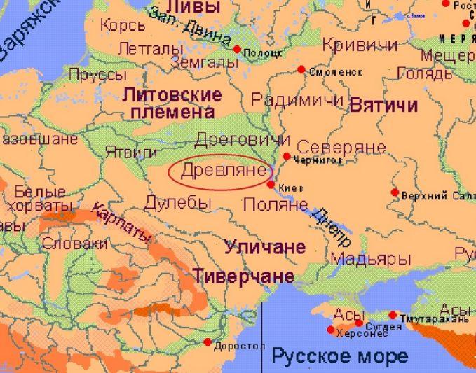945 г. Игорь Рюрикович погиб при повторном полюдье у древлян