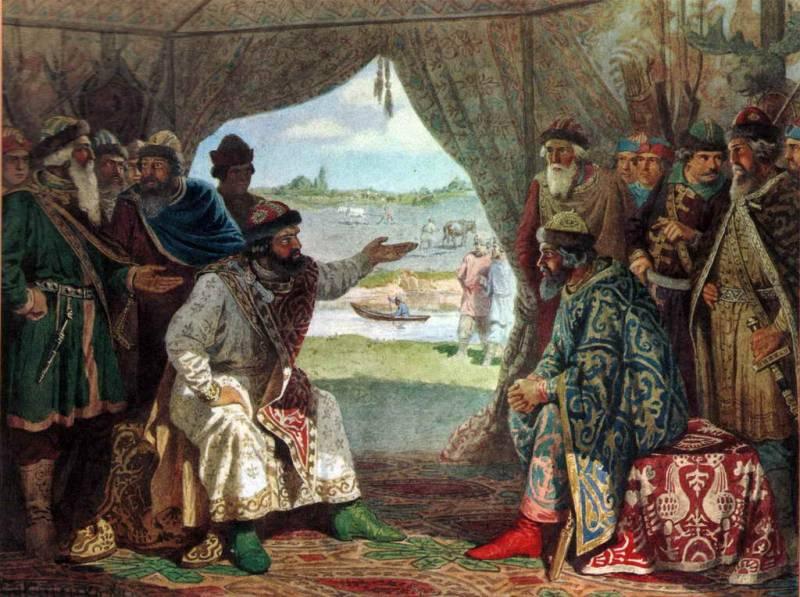 1097 г. Владимир Всеволодович Мономах принимает участие на совете князей в Любече
