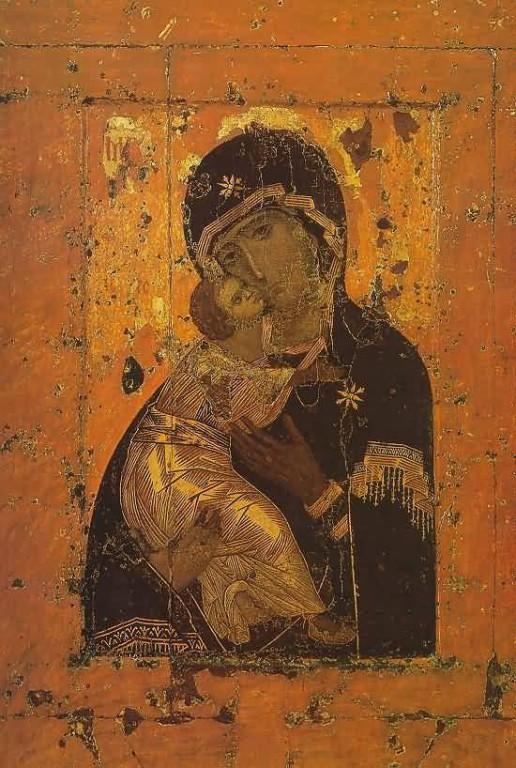 1131 г. Владимирская икона Божией Матери подарена Лукой Хрисовергом константинопольским патриархом Юрию Долгорукому