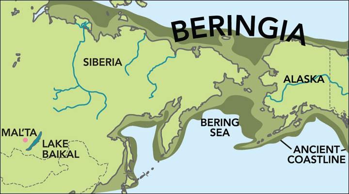- 22 000 лет до н.э. Мальчик (гаплогруппа R) 4-х лет погребен на стоянке у реки Белая