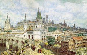 1368 г. Ольгерд напал на Москву, но не стал штурмовать недавно отстроенный каменный Кремль