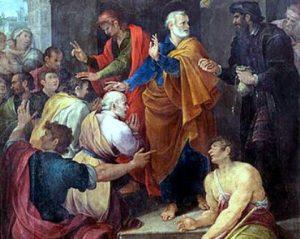 40 г. Симон Волхв предлагает деньги апостолам Петру и Иоанну за благодать Святого Духа