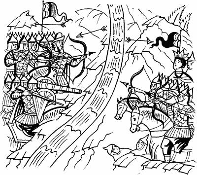 1472 г. Хан Ахмат нападает на Русь и сжигает Алексин