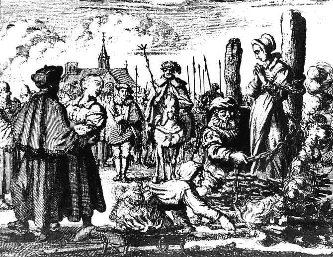 1484 г. Папа Иннокентий VIII выпускает буллу о ведьмах