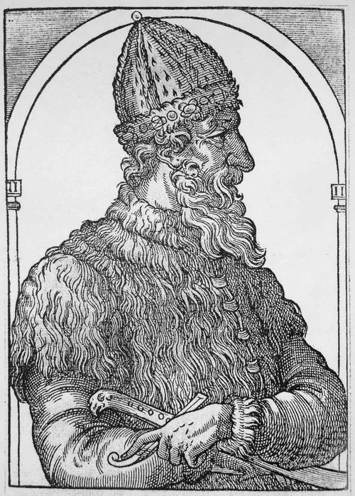 1490 г. Леон Жидовин безуспешно пытается вылечит Ивана Молодого от подагры