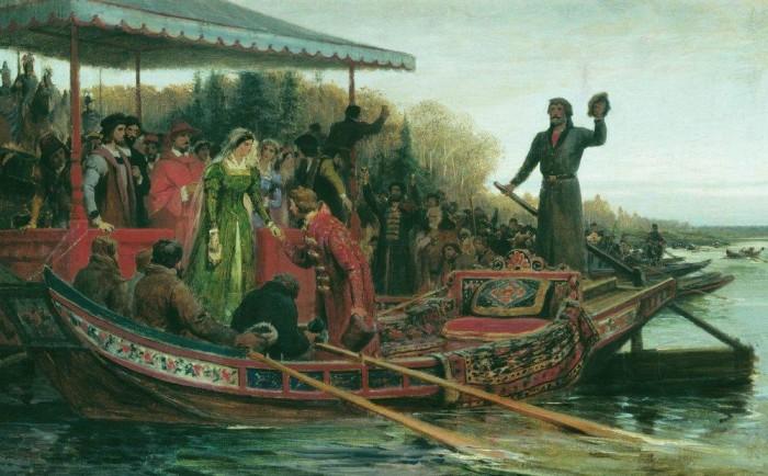 1493 г. Иван III Васильевич впервые именует себя государем всея Руси в международных сношениях