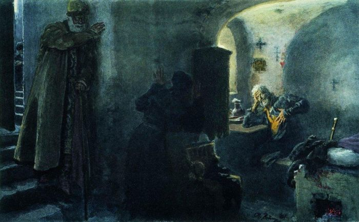 1494 г. Андрей Васильевич Большой, родной брат Ивана III, удельный князь Углицкий, умер в заточении