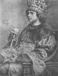 1495 г. Елена Ивановна (дочь Ивана III) выдана за Александра Казимировича Ягеллончика, великого князя литовского