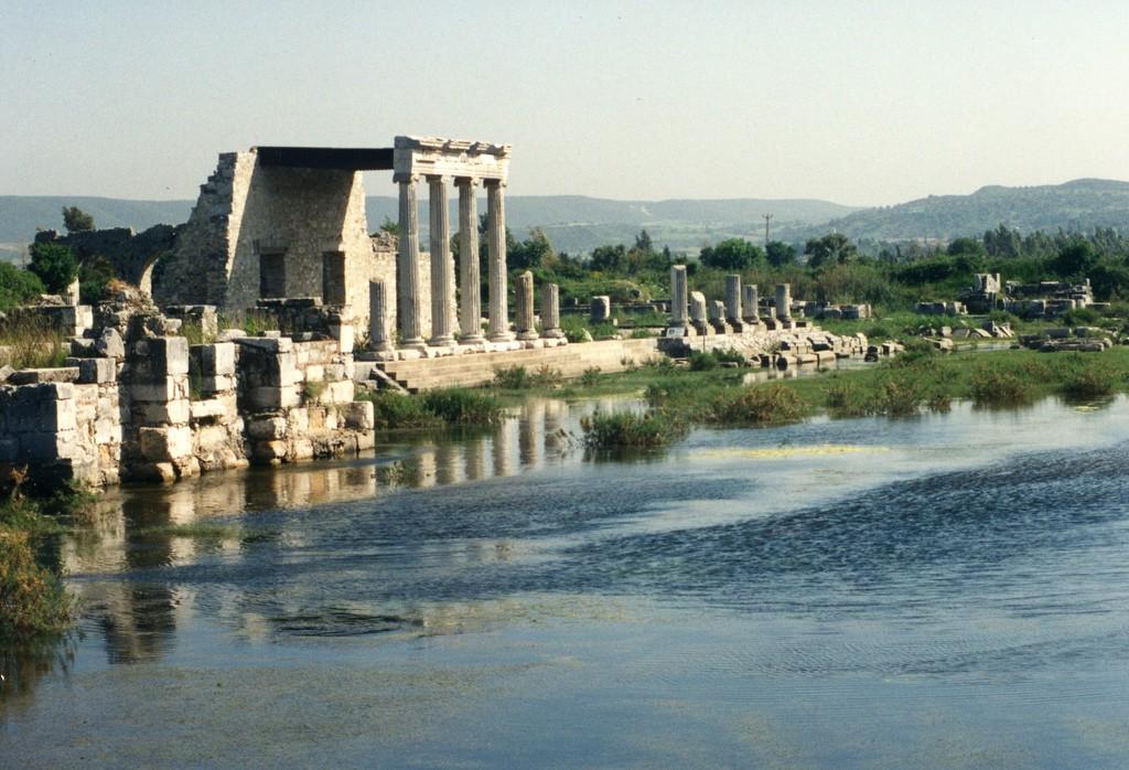 -900 г. д.н.э. Ионийцы, греческие колонисты из Аттики, основали Милет
