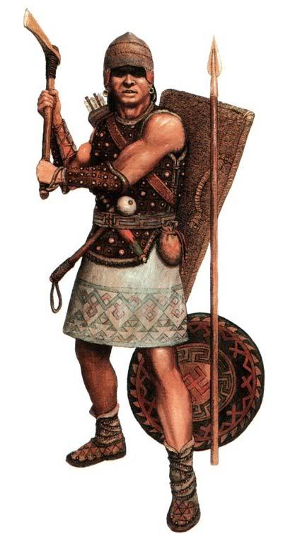 -4000 г. (до.н.э.) Индоарии имеют прародину в районе Самарской Луки и распространяются вместе с курганной культурой