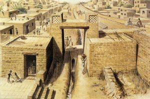 -1700 г. (до.н.э.) Мохенджо-Даро город древней индской цивилизации разрушен ариями