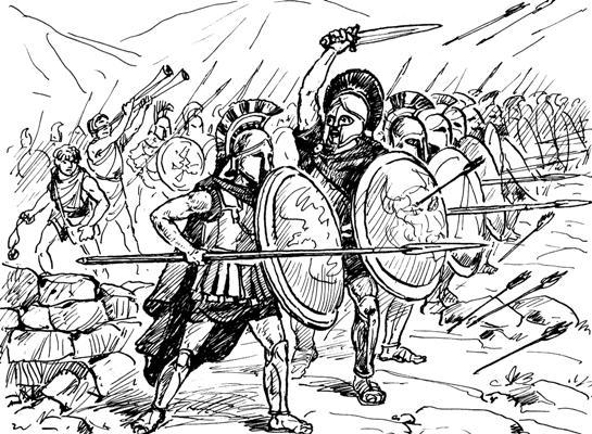 -411 г. д.н.э. Олигархическая партия приходит к власти в Афинах в результате Переворота Четырехсот