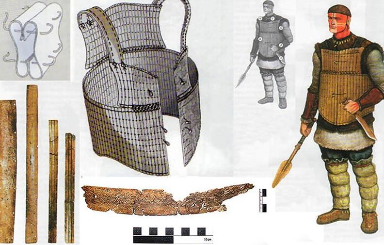 -1686 г. (до.н.э.) Арии на Иртыше носили боевые доспехи из костей животных