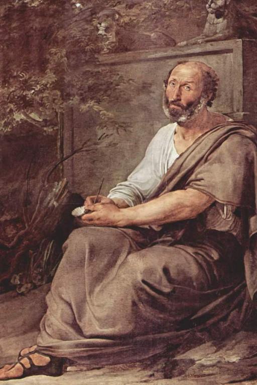-322 г. до н. э. Аристотель в свои 62 года вынужден покинуть Афины из-за ослабления Македонии