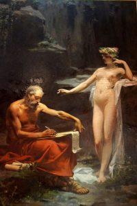 -715 до н.э. Нума Помпилий, второй римский царь, запретил человеческие жертвоприношения