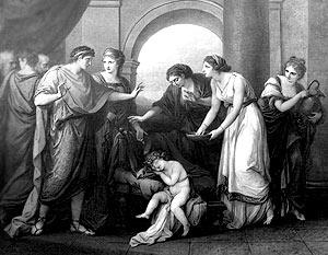 -535 г. до н.э. Сервий Туллий (6-й римский царь) начал печатать серебряную монету