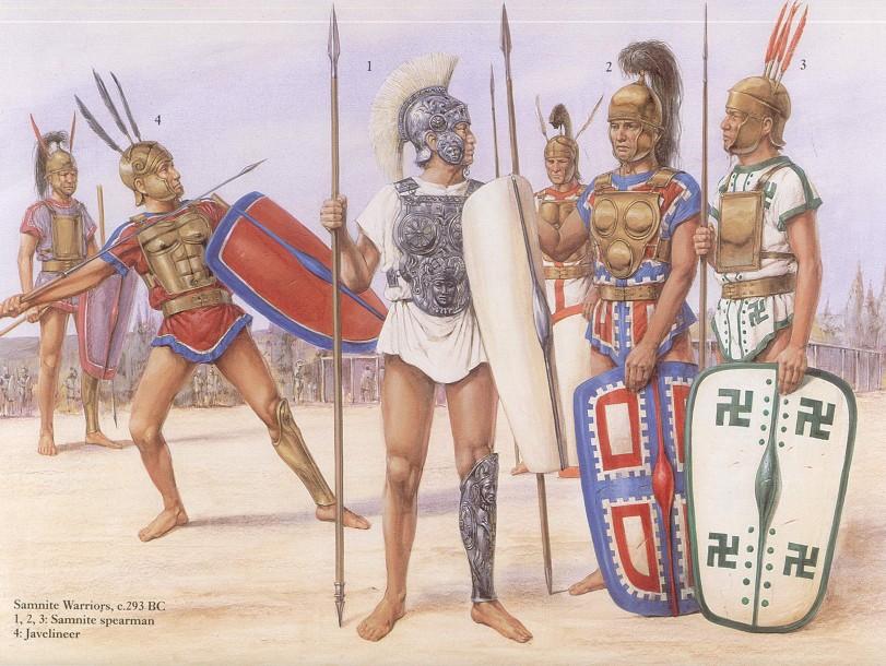 -290 г. до н. э. Римская республика упразднила Самнитскую федерацию