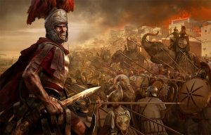 -241 г. до н. э. Римская республика уничтожает флот Карфагена и побеждает в Первой Пунической войне