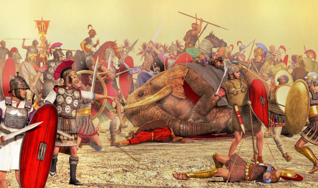 202 г. до н.э. Сципион Африканский победил армию Ганнибала в Африке и окончил Вторую Пуническую войну