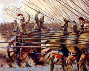 -331 г. до н.э. Александр Македонский разбил армию Дария III в битве при Гавгамелах