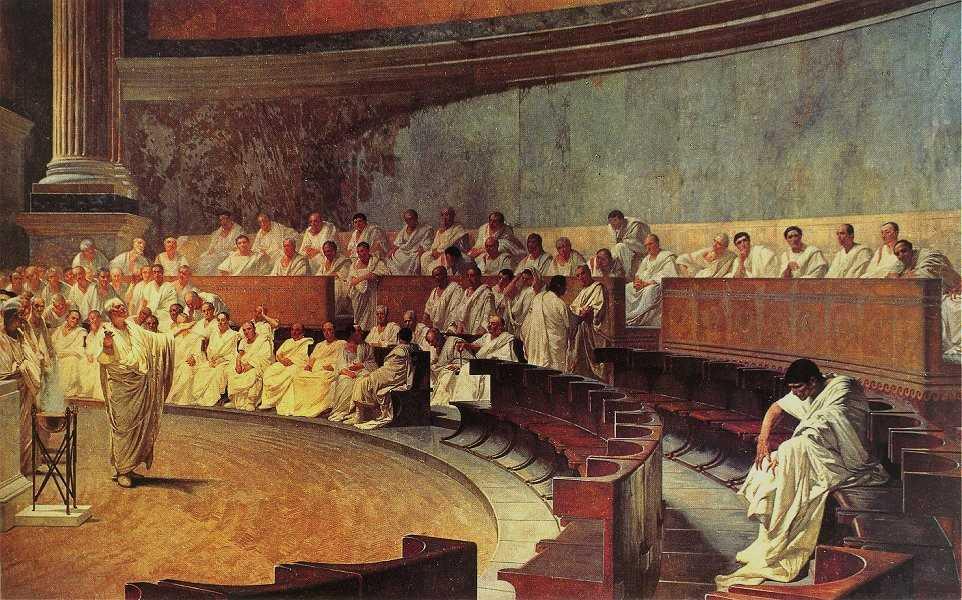 -123 г. до н. э. Гай Гракх добился принятия закона о двухкратном сокращении цены хлеба для римских граждан